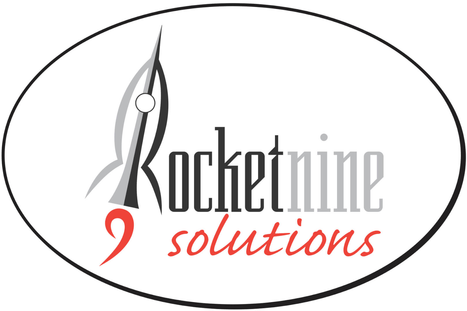 Rocket 9 Solutions Logo Color